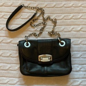 🌟 B. Makowsky genuine leather crossbody bag